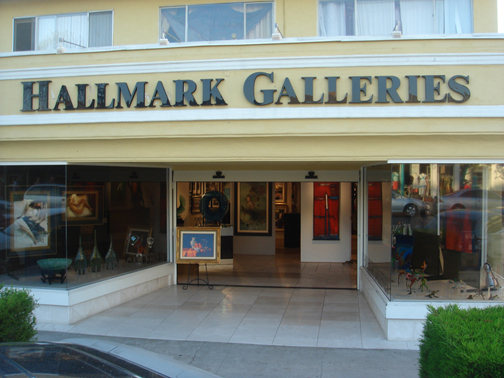 Hallmark Galleries - a fine art gallery located in the heart of La Jolla village, the number one tourist destination in San Diego, CA