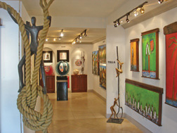 Hallmark Fine Art Gallery, La Jolla, San Diego art gallery nested in La Jolla Cove, top tourist destination in San Diego