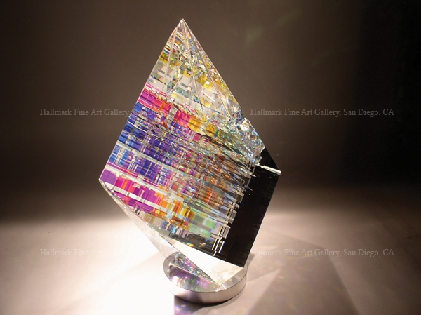 Jack Storms Cut Glass Art Sculptures has high value at beginning prices that are very affordable.
