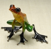 Frogman Tim Cotterill Frog Sculpture Winston